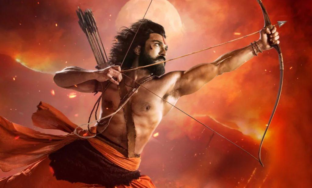 Ram Charan RRR first look As Alluri Sita Ramaraju
